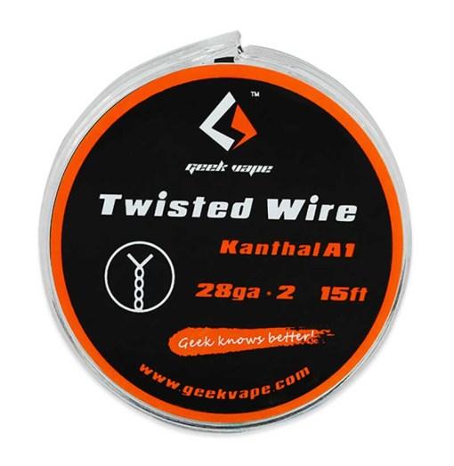 GeekVape Atomizer DIY Twisted Wire (KA1 26GAx2) 15ft