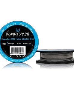 Superfine MTL Specialty Wire Spool Ni80- 10 Feet-Vandy Vape