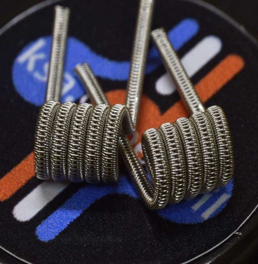 Staggered Fused Clapton-Easy Coil(2pcs)