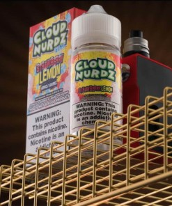 Cloud Nurdz Strawberry Lemon eLiquid 100ml