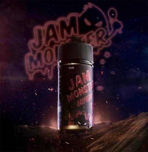 Jam Monster Raspberry eLiquid | Obsession Vape Store Egypt
