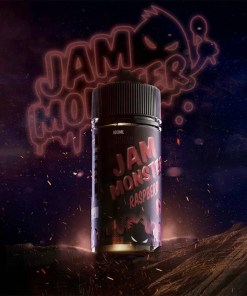 Jam Monster Raspberry eLiquid | Obsession Vape Store Egypt