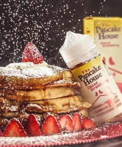 Glazed Strawberry The Pancake House | Original Imported Premium E liquid | Egypt | Pancakes, Strawberries | أفضل أنواع الليكود البريميم فى مصر
