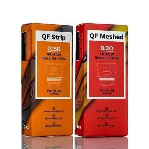 VAPORESSO QF REPLACEMENT COILS 3 PCS