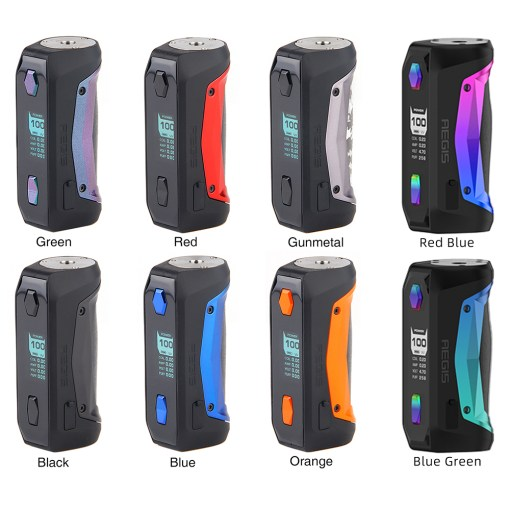 Aegis Solo 100W MOD-Geekvape colors