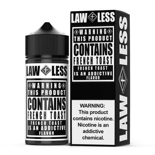 French Toast by Flawless Warning E-Liquid 100ml