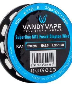 VANDY VAPE KA1 Superfine MTL Fused Clapton SPOOL