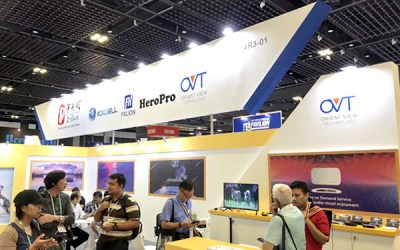 OVT Debuts in Singapore, Broadcast Asia 2018