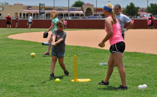 lady ram softball camp2