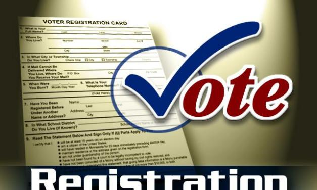 Voter Registration Deadline is October 20