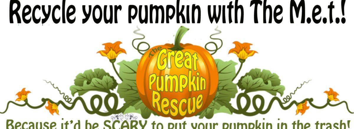 Third Annual Great Pumpkin Rescue