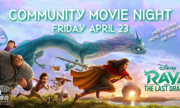 Community Movie Night: Raya and the Last Dragon