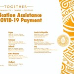 Cherokee Nation offers help for elders to sign up for $2,000 COVID-19 Assistance Payment by hosting drive-through community events