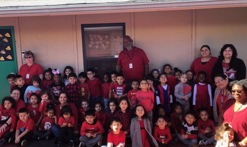 Mary Bailey Head Start's Tyrone Brown Receives Family's Letter of Appreciation