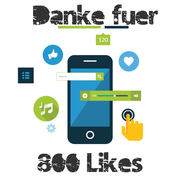 800 like´s DANKE