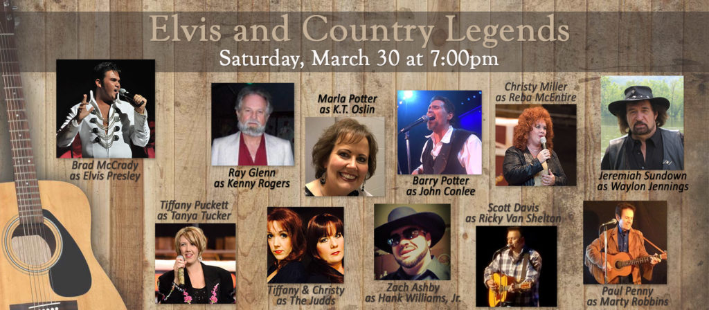 Elvis and Country Legends – Owensboro Convention Center