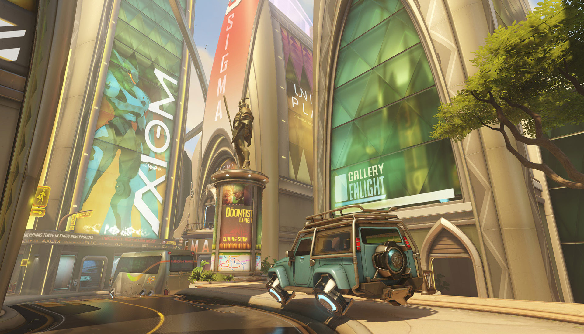 OW Map Numbani Overwatch Numbani Stats And Strategy