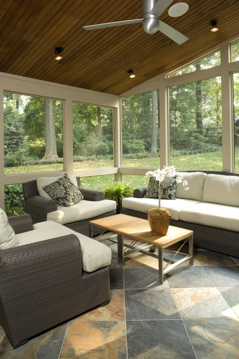 Screened Porch Ideas | Owings Brothers Contracting | Maryland on Inclosed Patio Ideas  id=67083