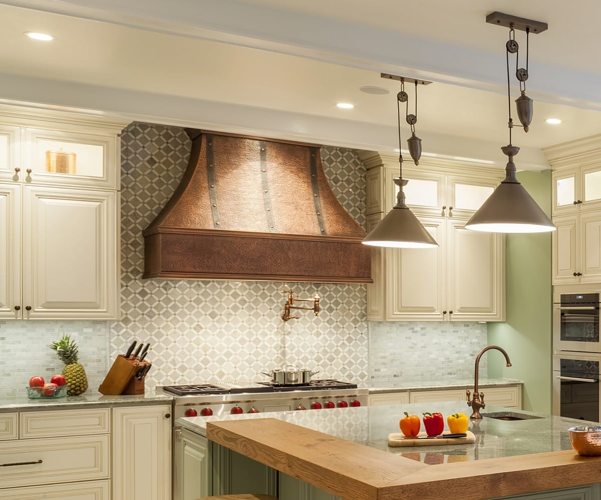 kitchen remodeling - lighting | owings brothers contracting