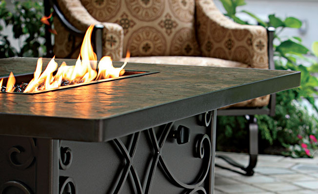 o w lee luxurious outdoor casual furniture fire pits