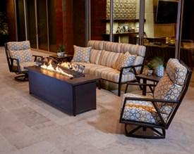 MID-CENTURY MODERN patio furniture