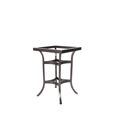 OW Lee Square Tube Aluminum Counter Table Base
