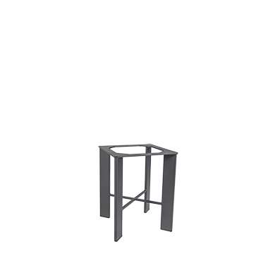 OW Lee Modern Aluminum Side Table Base