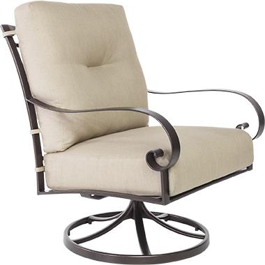 OW Lee Pasadera Swivel Rocker Lounge Chair
