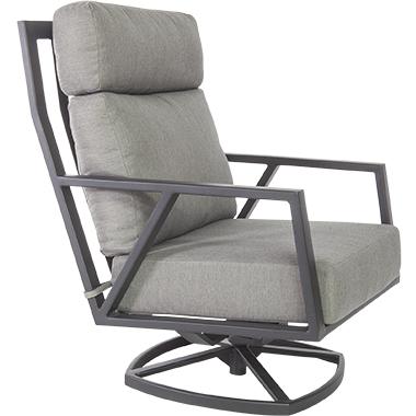 OW Lee Quick Ship Aris Swivel Rocker Lounge Chair