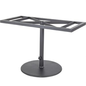OW Lee Pedestal Iron Dining Table Base