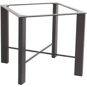 OW Lee Modern Aluminum Chat Table Base