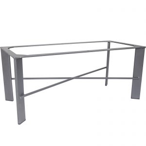 OW Lee Modern Aluminum Occasional Table Base