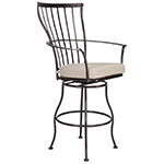 OW Lee Monterra Swivel Bar Stool With Arms