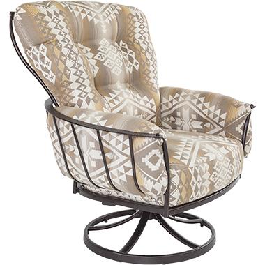 OW Lee Pendleton Monterra Spring Base Lounge Chair