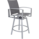OW Lee Pacifica FC Swivel Bar Stool With Arms