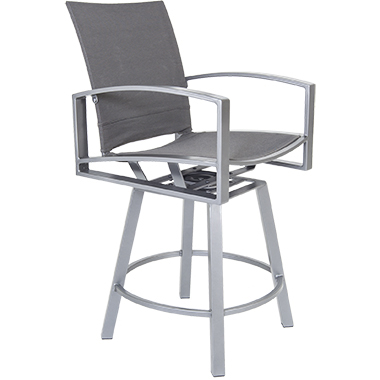 OW Lee Pacifica FC Swivel Counter Stool With Arms