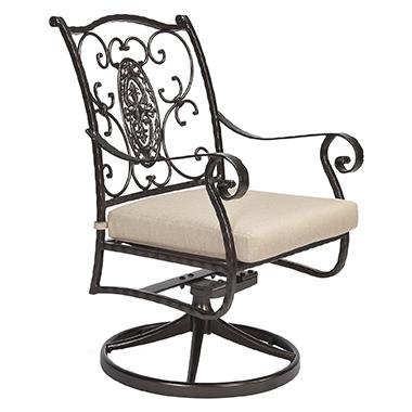 OW Lee San Cristobal Swivel Rocker Dining Arm Chair