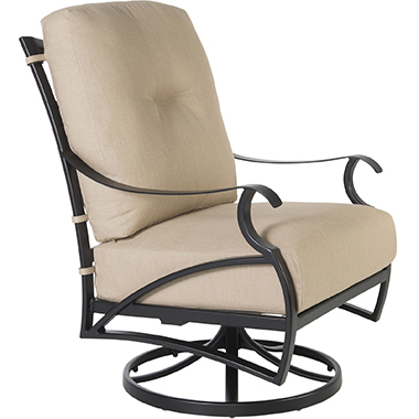 OW Lee Grand Cay Swivel Rocker Lounge Chair