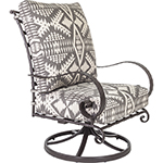 OW Lee Pendleton Classico High-Back Swivel Rocker Lounge Chair