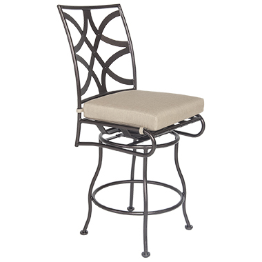 OW Lee Marquette Armless Swivel Counter Stool