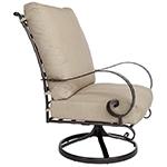 OW Lee Classico Hi-Back Swivel Rocker Lounge Chair