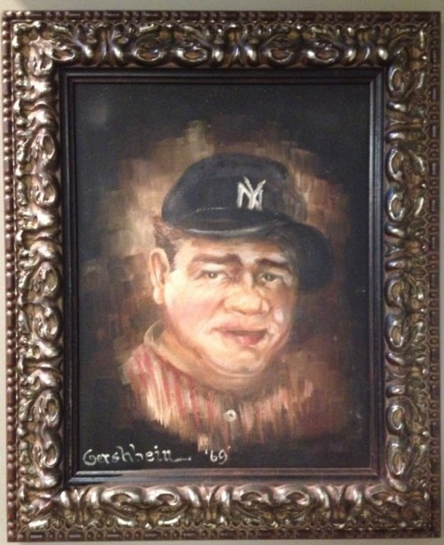 BABE RUTH by Ruth Gershbein