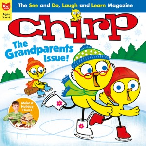 Chirp December 2013 cover