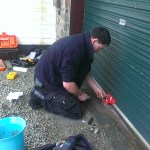 Roller Shutter Garage Lock Repair
