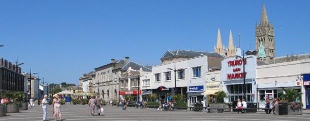 Truro, The Piazza at Lemon Quay