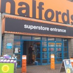 Lock replacement at Halfords Camborne