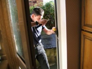Home security wooden door repair