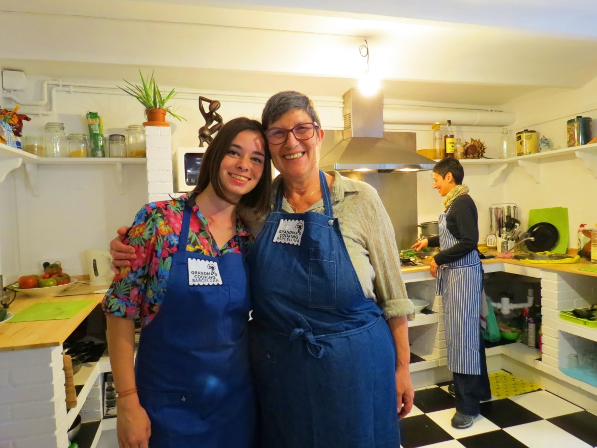 unique cooking experience with gradnmas in barcelona