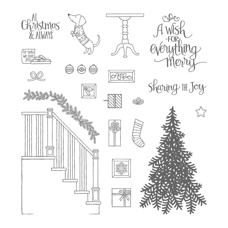 My 4 Favorite Stampin Up Christmas Stamps Of 2017