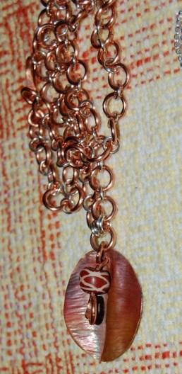 Fold-formed copper